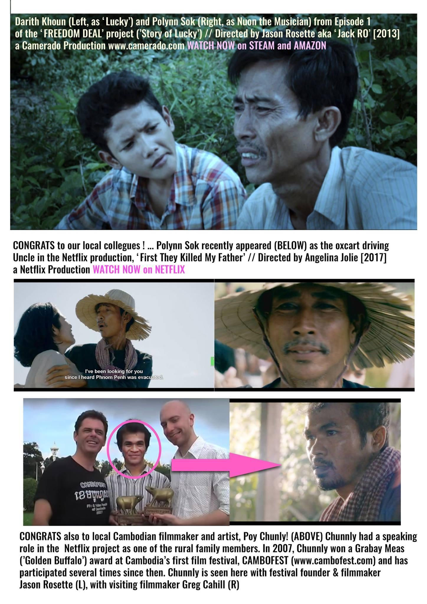 'Freedom Deal' Cambodian actor makes his mark in Netflix movie 'First they Killed my Father'
