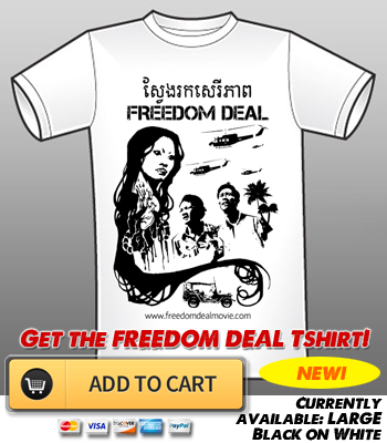 The FREEDOM DEAL T-Shirt, based on Asia's favorite supernatural historical drama